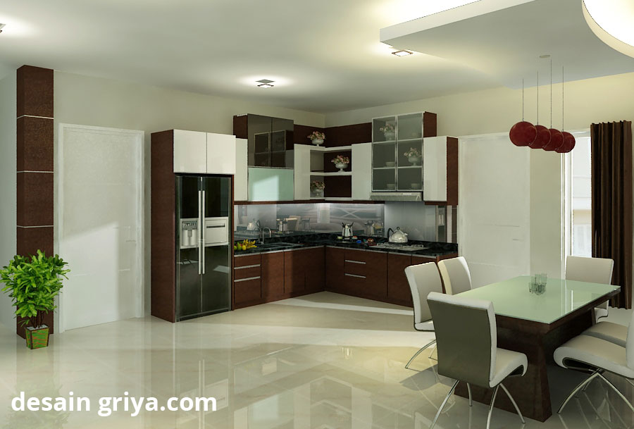 ruang makan rumah-minimalis