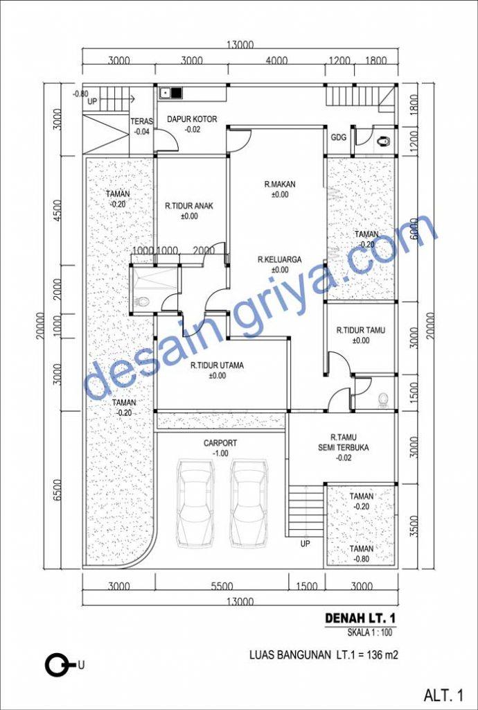 Denah-Rumah-1-Lantai-Minima