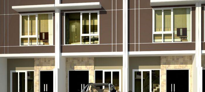 Rumah Lebar 4 meter