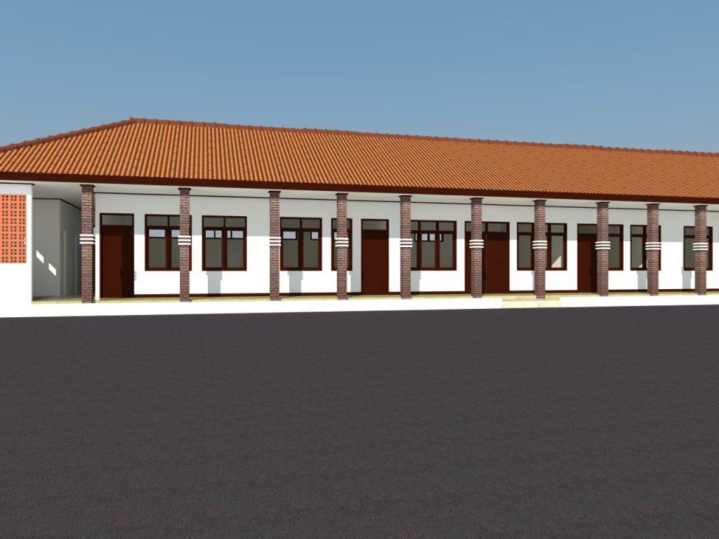 fasade pondok pesantren