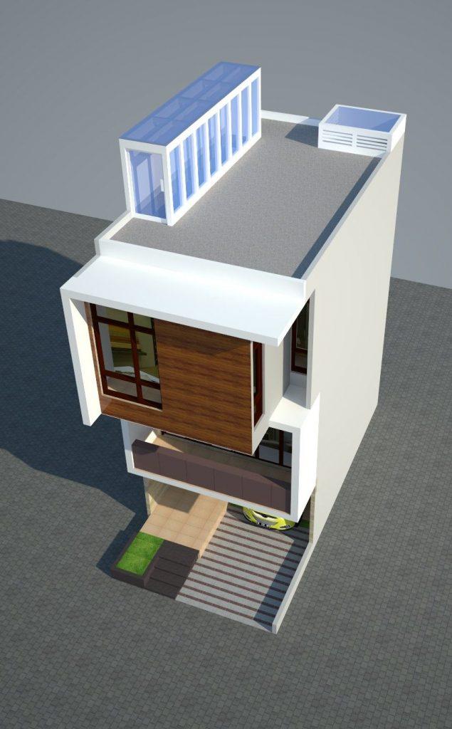 Desain Rumah Minimalis Lebar 5 Meter  model rumah minimalis lantai 2 lebar 5 meter 2020 rumah