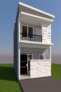 rumah lebar 3.5 meter